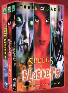 Spells Slashers   DVD 3 Pack DVD, 2004, 3 Disc Set