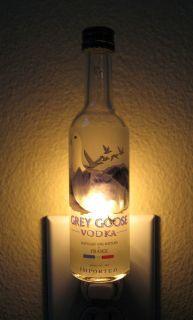 Grey Goose Vodka Mini Bottle Night Light