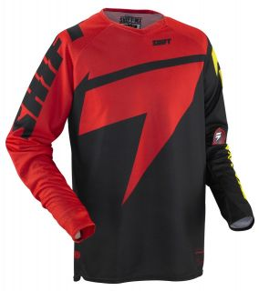 Shift MX Racing Chad Reed Jersey Red/Yellow Motocross MX Atv Bmx MTB