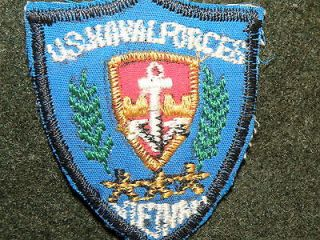 OFFICIAL VIETNAM MACV NAVAL FORCES PATCH BADGE MADE IN COUNTRY RARE