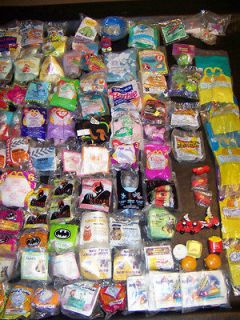 100+ McDonalds Happy Meals, Burger King, Dennys Toys