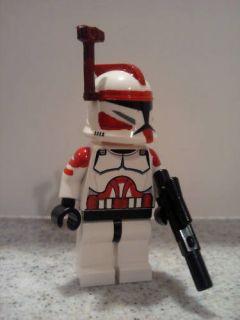 Lego Star Wars Custom Commander Fox Clone Wars Trooper