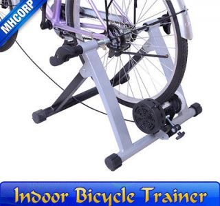 Sliver Mag Bicycle Bike Trainer Stand Indoor Kinetic Stationary