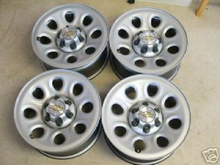 CHEVY SILVERADO / GMC SIERRA 17 STEEL WHEELS RIMS