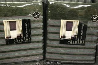 Studio Urban Grommet Window Panel Drape Fog Grey 63 Or 84