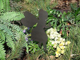 FAIRY SHADOW Garden Stake Metal Lawn Art Ornament Mystical Magical
