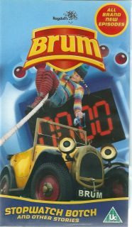 BRUM   STOPWATCH BOTCH   VHS VIDEO