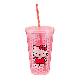 Hello Kitty™ 18 oz. Acrylic Travel Cup With Straw, Cartoons Tv Shows