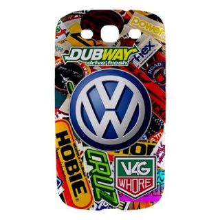 Sticker Bomb Camper Beetle Polo Golf Samsung Galaxy S3 Hard Case Cover