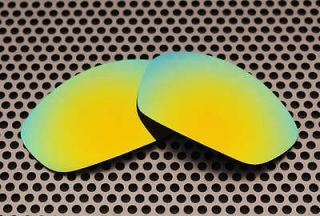 VL Polarized 24K Gold Replacement Lenses for Oakley Straight Jacket