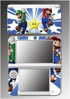 New Super Mario Bros Brothers Luigi Video Game Skin Cover 12 for