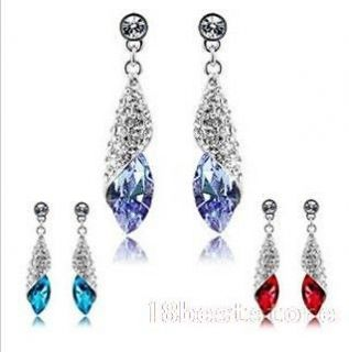 swarovski crystal dangle earrings in Jewelry & Watches
