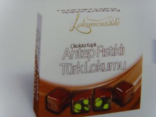 Turkish Delight With Pistachio Chocolate Lokum 75gr