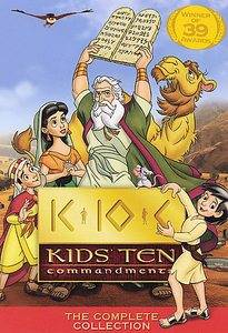 Kids Ten Commandments   The Complete Collection DVD, 2006, 5 Disc Set