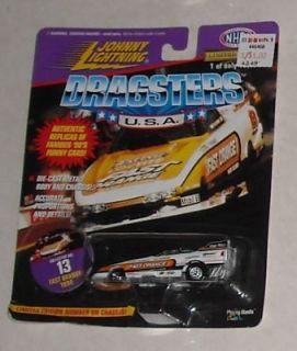 1997 Johnny Lightning DRAGSTERS USA RUG DOCTOR MOC