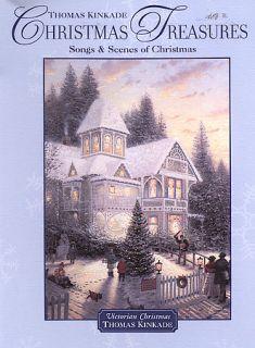 Thomas Kinkade   Christmas Treasures DVD, with Postcard