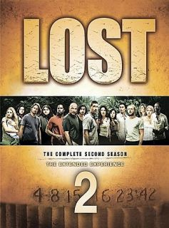 LOST TV SERIES THE COMPLETE SEASON 2 TWO SECOND 2nd SEASON DVD BOX SET