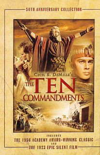 The Ten Commandments   50th Anniversary Collection DVD, 2006, 3 Disc