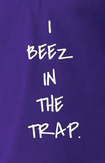 AMERICAN APPAREL BEEZ IN THE TRAP NICKI MINAJ YMCMB T SHIRT S M L XL
