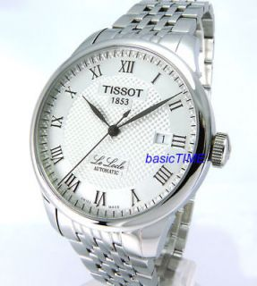 TISSOT LeLocle MEN AUTOMATIC SAPPHIRE CRYSTAL SOLID STEEL