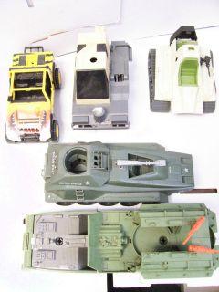 GI Joe Loose Tank Vehicle Shells/Triple/Tiger/Hasbro