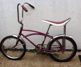 Vintage Western Flyer Buzz Bike Muscle Bike In Go Fast Grape!