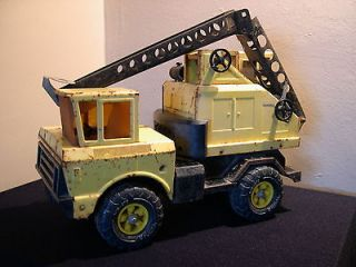 Vintage Tonka Yellow Crane MR 970 Truck RARE! No Reserve!