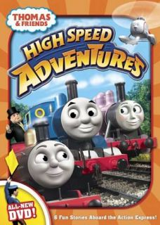 Thomas Friends High Speed Adventures DVD, 2009