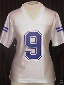 NWT TONY ROMO 9 Dallas Cowboys Jersey Womens ALL SIZES
