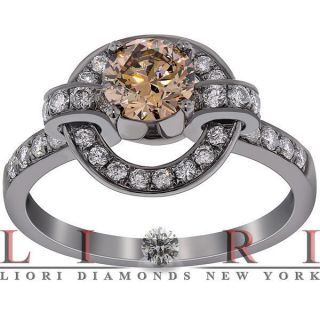 chocolate diamond engagement ring in Engagement Rings