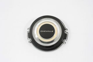 1966 Chevelle Steering Wheel Horn Button Emblem with Repair Kit