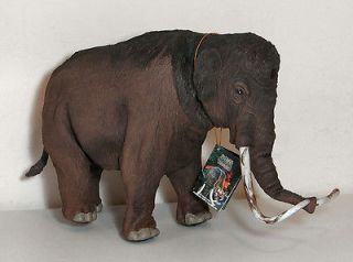 Dino Tronics Wooly Mammoth Rubberized Skin Covers Body 11 high 18
