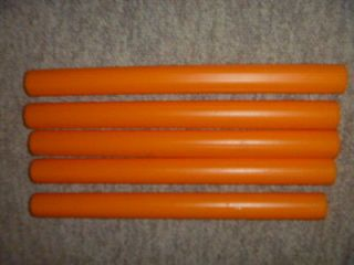 Vintage 1973 Mattel Barbie doll house poles for three story town