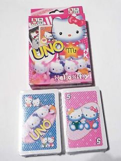 UNO Playing Cards Game HELLO KITTY Sealed NEW