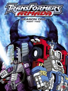 Transformers Armada Season 1 Part 2 DVD, 2006, 4 Disc Set