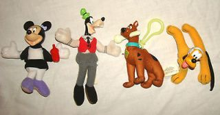 Plush Toys Fast Food MCDONALDS BURGER KING Minnie Mouse Goofy Pluto
