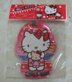 Sanrio Hello Kitty Luggage Tag Name Holder # pink