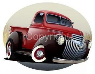 1946 Chevy Pickup Truck T Shirt Classic #6722 NWT