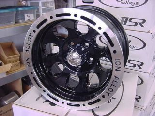 15x8 ION 174 SIMUALTED BEADLOCK 5 ON 4.5 BP JEEP WRANGLER WHEEL