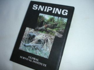 Sniper Training Course Special Forces Tracking Camoflage DVD Video