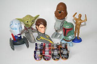 Star Wars Toy Lot Star Wars Clone Wars mini skateboard