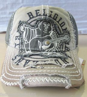 NWT TRUE RELIGION BUDDHA LEATHER CAP HAT AUTHENTIC COLOR: BLACK STYLE