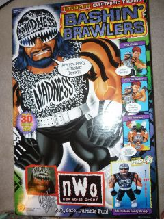 Toy Biz WCW NWO 21 Talking Plush Bashin Brawlers Randy Savage Action
