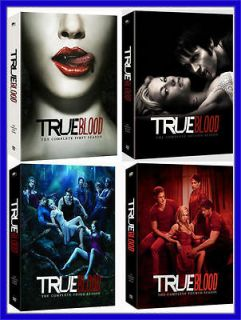 TRUE BLOOD THE COMPLETE SERIES SEASONS 1 4 BRAND NEW FACTORY SEALED 20