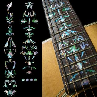 Vine Of Tree (Abalone Mixed) Fret Markers Inlay Sticker Decal For