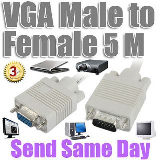 VGA Extension to Female Video Controller Laptop Projector HD TV Cable