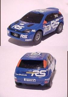 Tyco Mattel 1/43 DECO MISTAKE Slot Car Lighted Ford Focus