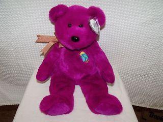 Ty Beanie Baby Babies Millenium Bear Original 1999