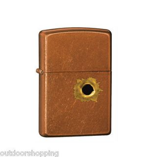 TOFFEE BULLET HOLE AUTHENTIC ZIPPO LIGHTER   Made in USA
