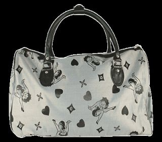Betty Boop Luggage Carry On Bag, Duffle Bag, Travel Bag   Black